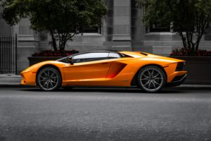 picture of a lambo and the image associated in having your own online business